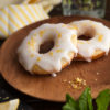 Fresh Lemon Protein Donut Side View